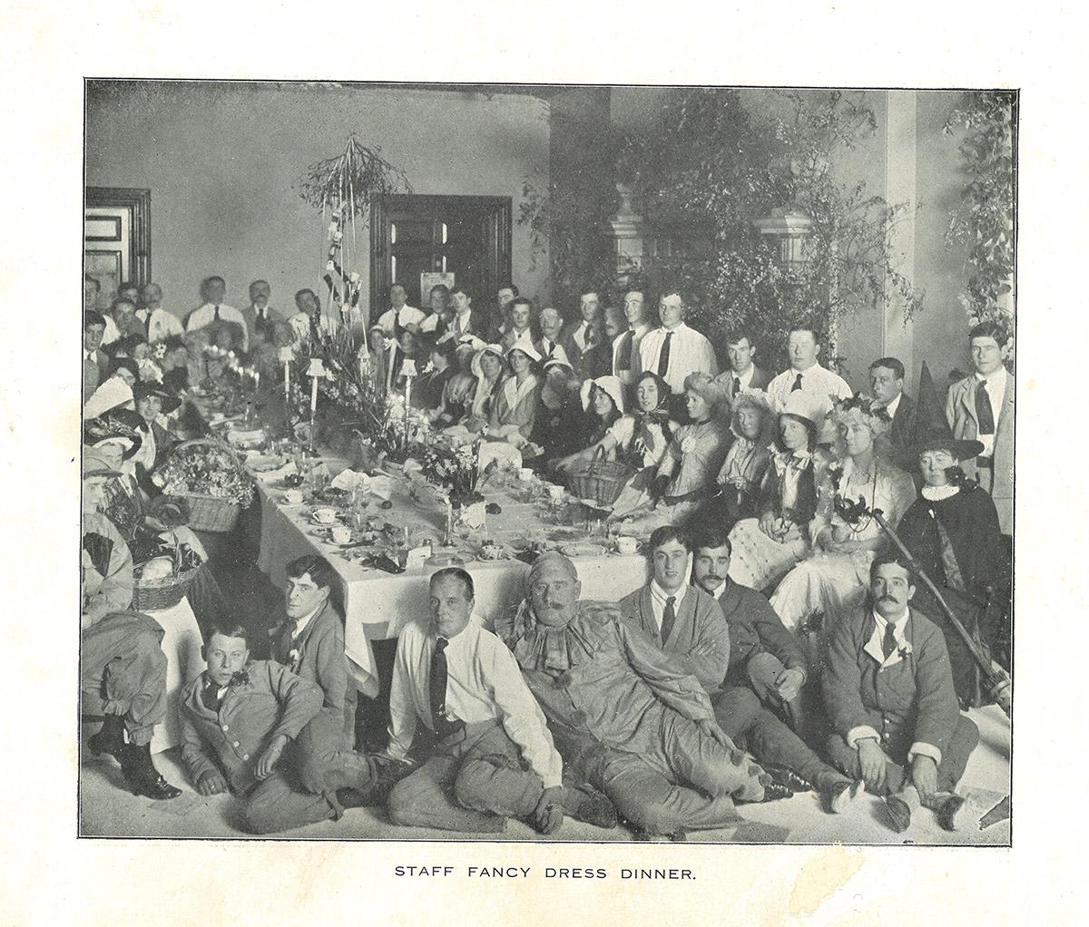 Staff Fancy Dress Dinner