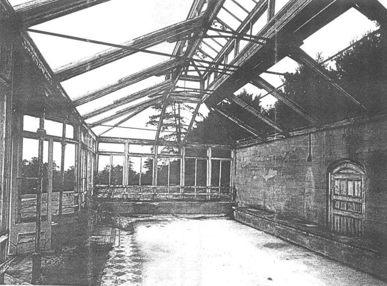 Heywood House Conservatory Restoration