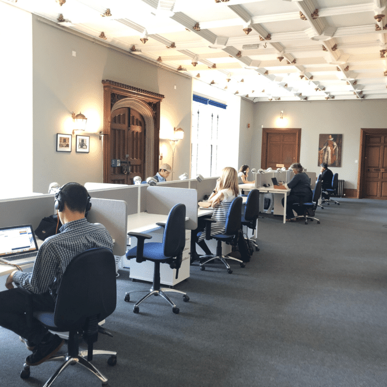 Co-working in the Mansion