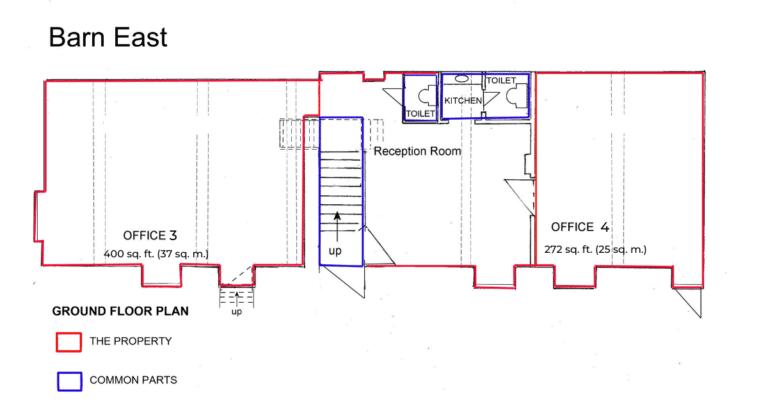 Barn East Manor Farm Offices Floor Plans