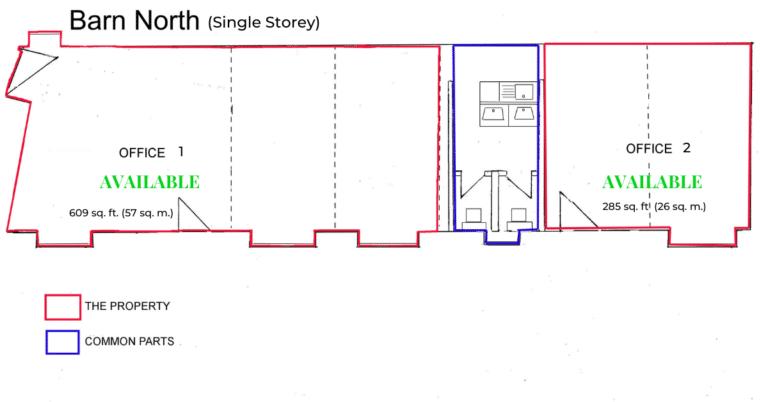Barn North -Manor Farm Offices Floor Plan